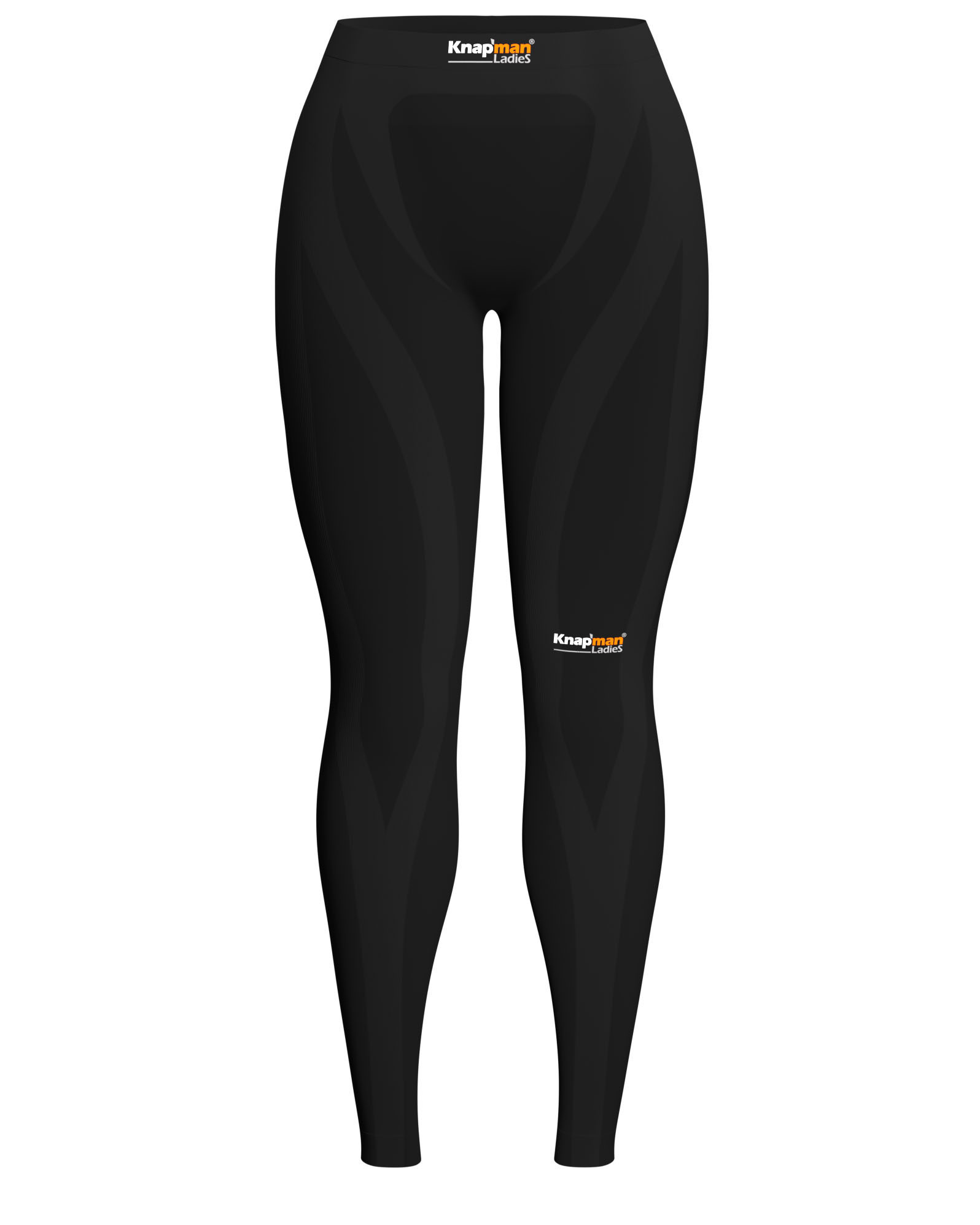 Knap'man Zoned Compression Pants Long USP 25% Ladies Zwart