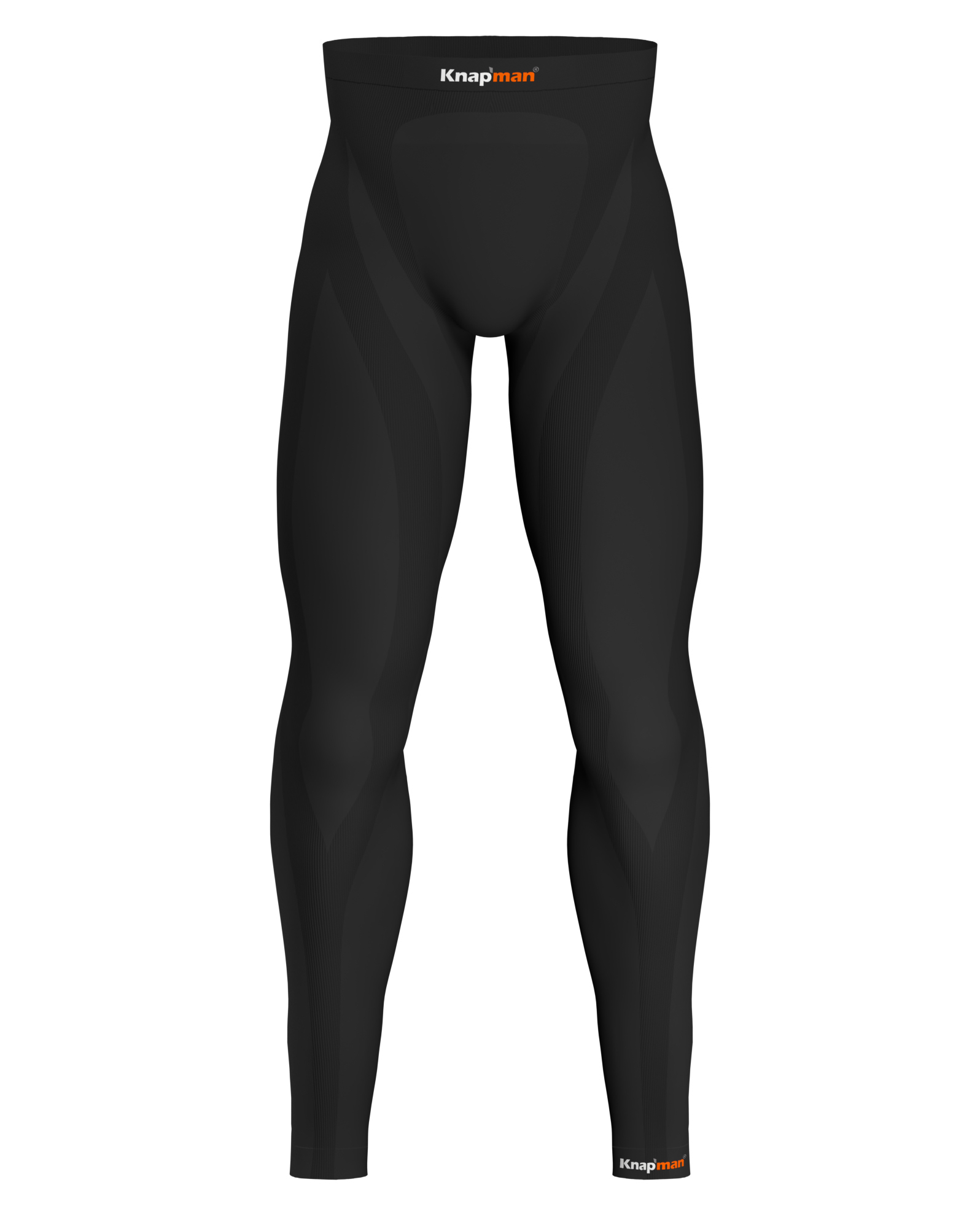 Knap'man Zoned Compression Pants Long USP 45% Zwart