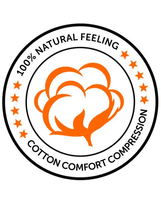 647e18c9cf8 Knap'man Zoned Cotton Comfort V-hals shirt wit - Cotton Comfort ...