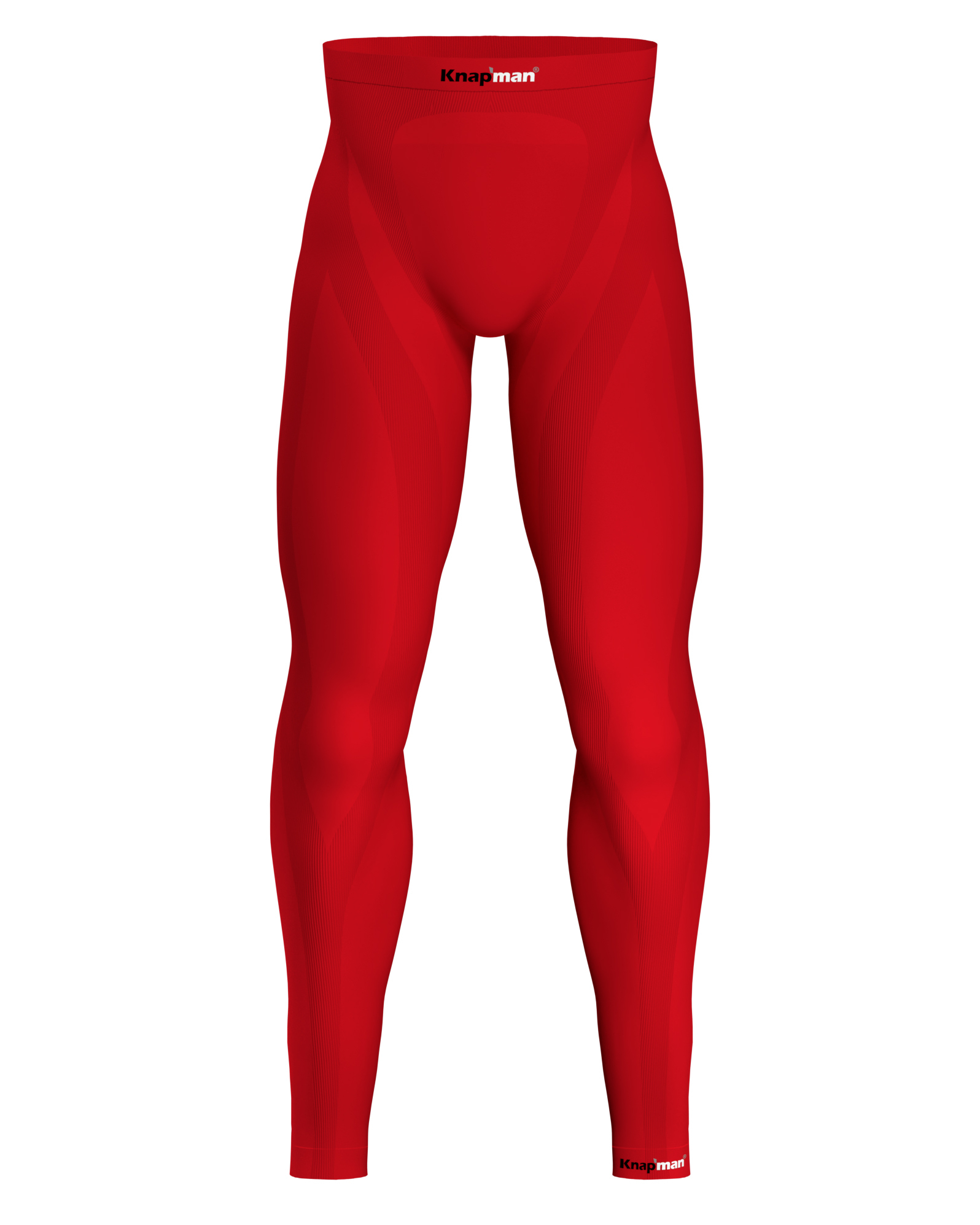 Knap'man Zoned Compression Pants Long USP 25% Rood