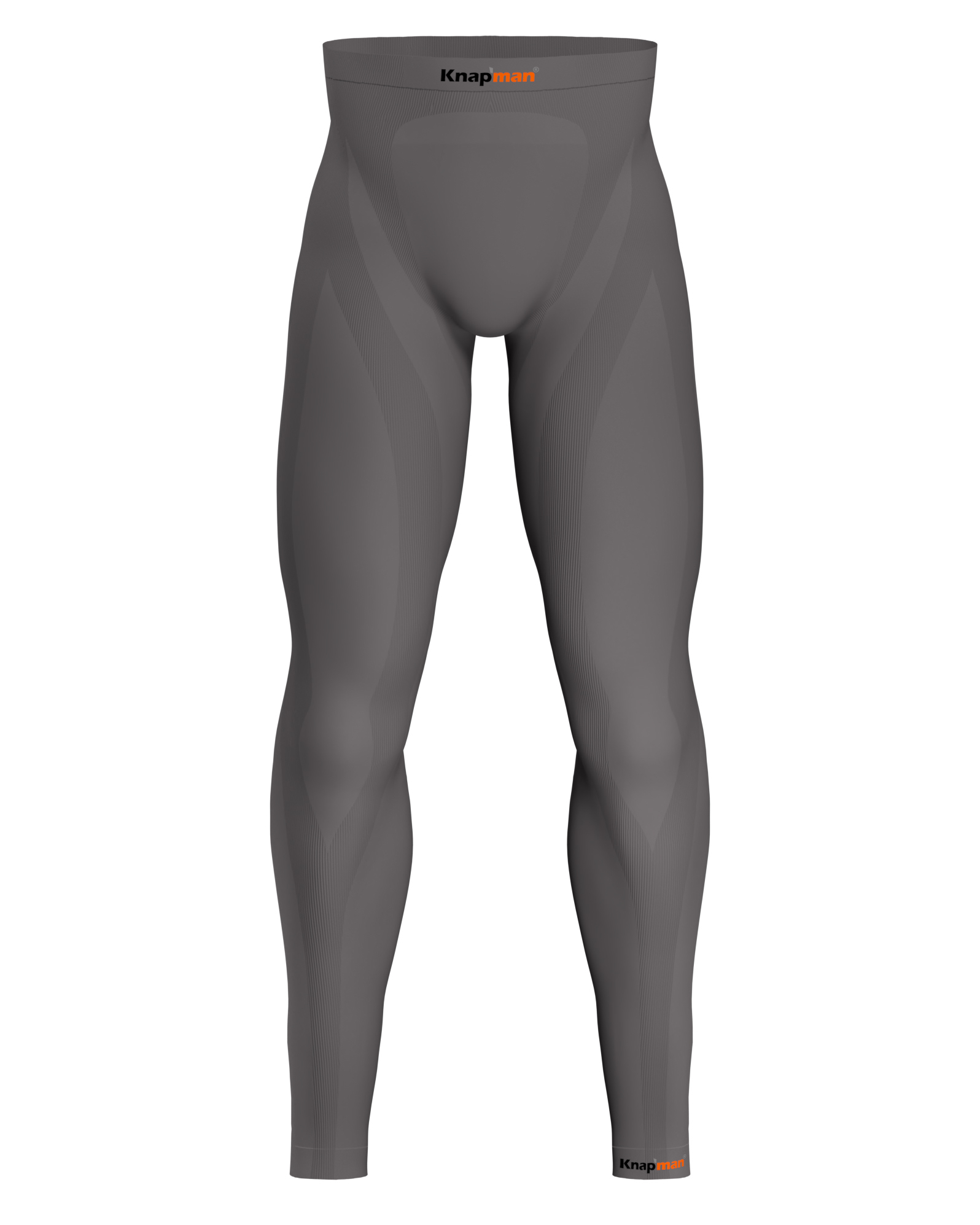 Knap'man Zoned Compression Pants Long USP 45% Grijs