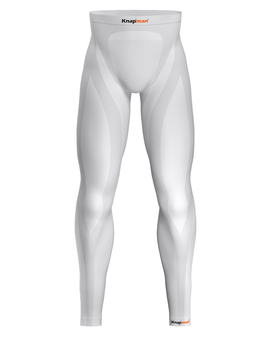 Knap'man Zoned Compression Pants Long USP 25% Wit